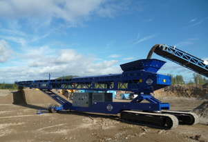 EDGE RTS80 Radial Track Stacking Conveyor |  Mobile stockpilers, feeders & radial track stockpiler