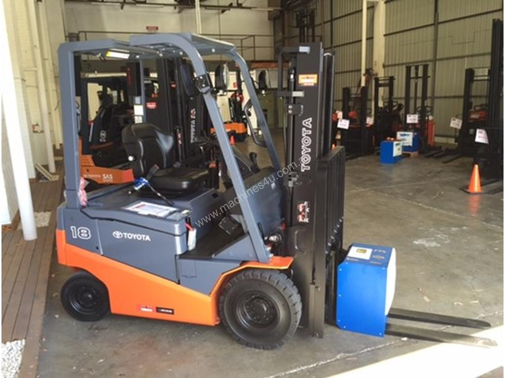 Used 2012 Toyota 8FBN18 Counterbalance Forklifts in STRATHFIELD, NSW Price:  $11,990 <454153>