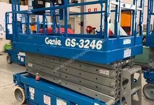 Genie 32ft Electric Scissor Lift Refurbished