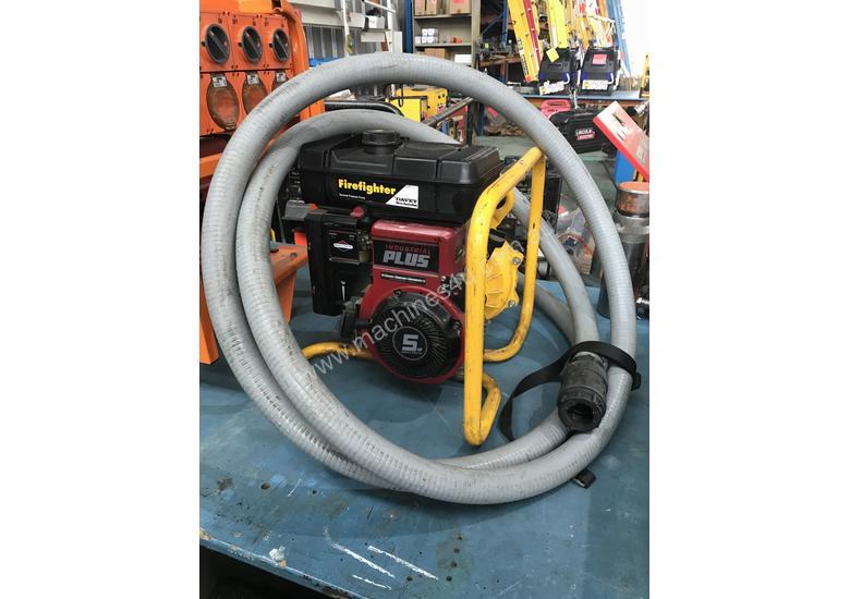 Davey Fire Fighting Pump Powered by Briggs and Stratton 5 HP Petrol Engine