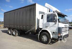 SCANIA P113 Curtain Side Truck