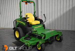 Used John Deere Zero Turn Mower 72 Inch Side Discharge Diesel 784 Low Hours Orange