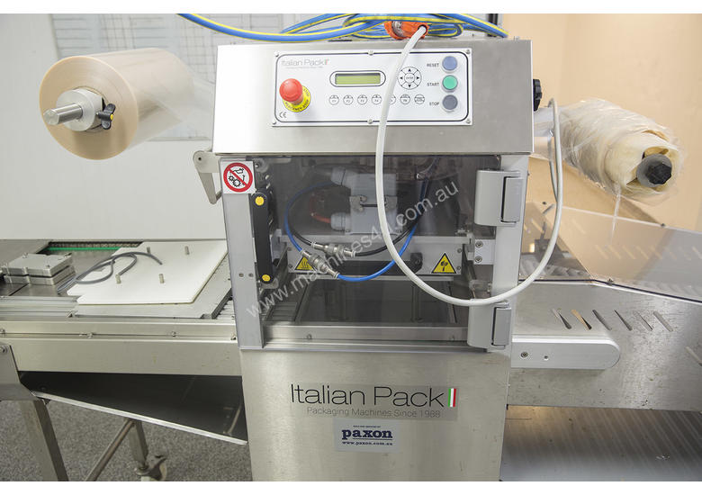 Italian Pack Tray Sealer Express and ALstep Label Applicator