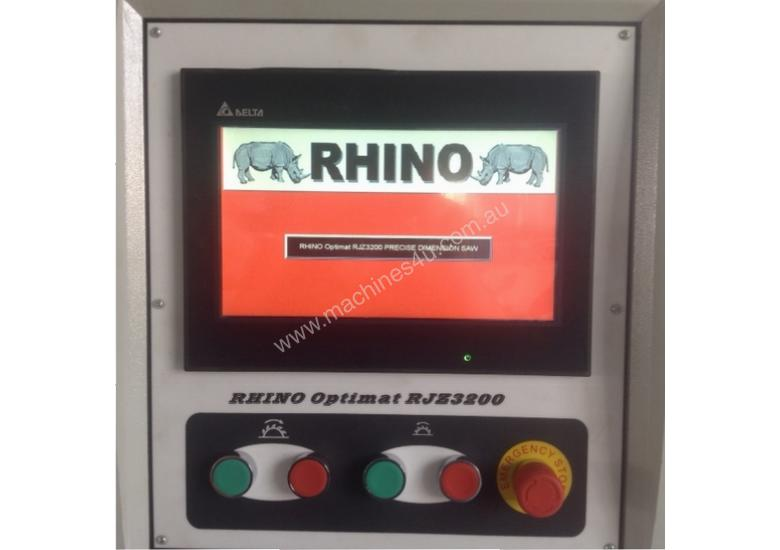 RHINO BUSINESS STARTER PACKAGE WITH 3200 SERVO SETTING FENCE PANEL SAW