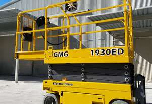 GMG 1930ED Slab Scissor Lift - With Industry First 10 x 5 Warranty