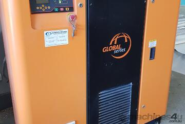 18Kw ELGi with Built in Dryer.11+15+18+22+55Kw Screw Compressors+Dryers+Tanks