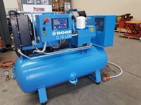 CHAMPION 11Kw + BOGE 7.5Kw + INGERSOLL RAND 37Kw SCREW COMPRESSORS + OIL FREE SILENT 240v - picture3' - Click to enlarge