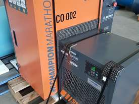CHAMPION 11Kw + BOGE 7.5Kw + INGERSOLL RAND 37Kw SCREW COMPRESSORS + OIL FREE SILENT 240v - picture0' - Click to enlarge