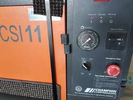 CHAMPION 11Kw + BOGE 7.5Kw + INGERSOLL RAND 37Kw SCREW COMPRESSORS + OIL FREE SILENT 240v - picture1' - Click to enlarge