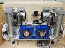 SCREW AIR COMPRESSOR PACKAGES INCL AIR DRYERS/AIR TANKS - SAVE $000's. OIL FREE SILENT COMPRESSORS - picture16' - Click to enlarge