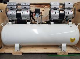 SCREW AIR COMPRESSOR PACKAGES INCL AIR DRYERS/AIR TANKS - SAVE $000's. OIL FREE SILENT COMPRESSORS - picture14' - Click to enlarge