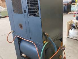 SCREW AIR COMPRESSOR PACKAGES INCL AIR DRYERS/AIR TANKS - SAVE $000's. OIL FREE SILENT COMPRESSORS - picture5' - Click to enlarge