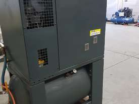 SCREW AIR COMPRESSOR PACKAGES INCL AIR DRYERS/AIR TANKS - SAVE $000's. OIL FREE SILENT COMPRESSORS - picture6' - Click to enlarge