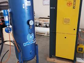 SCREW AIR COMPRESSOR PACKAGES INCL AIR DRYERS/AIR TANKS - SAVE $000's. OIL FREE SILENT COMPRESSORS - picture3' - Click to enlarge