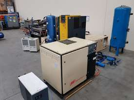 SCREW AIR COMPRESSOR PACKAGES INCL AIR DRYERS/AIR TANKS - SAVE $000's. OIL FREE SILENT COMPRESSORS - picture9' - Click to enlarge