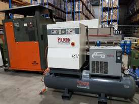 SCREW AIR COMPRESSOR PACKAGES INCL AIR DRYERS/AIR TANKS - SAVE $000's. OIL FREE SILENT COMPRESSORS - picture10' - Click to enlarge
