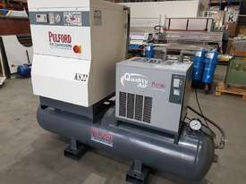 SCREW AIR COMPRESSOR PACKAGES INCL AIR DRYERS/AIR TANKS - SAVE $000's. OIL FREE SILENT COMPRESSORS - picture7' - Click to enlarge