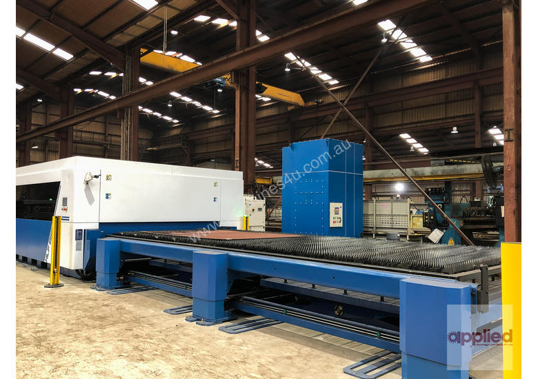 Yawei HLF-2562 Large Format Fiber Laser. 2.5 x 6.2m perfect for plate. High power IPG up to 15kW.