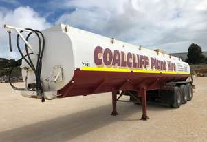 2009 ACTION TRAILERS AYQSY-TRI435 WATER TANK TRAILER