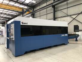 In stock. Ready for immediate sale. Yawei HLE-1530 2kW fiber laser. Machines across the country. - picture0' - Click to enlarge