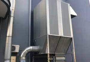 30kW Reverse Air Dust Collector System + Rotary Valve