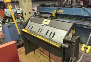 Used Keech 1250mm x 2mm Pan Brake Folder