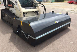 Himac Skid Steer Bucket Broom