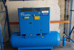 Medium Workshop 15hp Rotary Screw Air Compressor - 10,000 hour 5 year Warranty