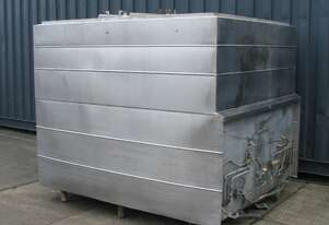 Jacketed Stainless Steel Holding Tank Vat - 4200L - Wilson Tyler