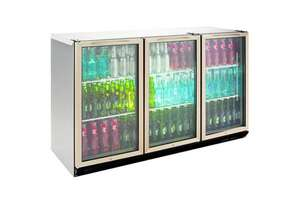 Williams BC3SS-80 Bottle Cooler Glass 3 Door Refrigerator