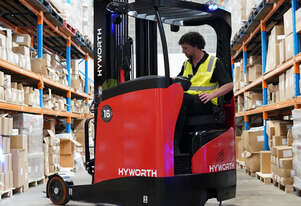 Hyworth 1.6T Ride On Reach Truck FOR HIRE