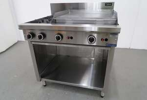 Cobra C9B 2 Burner Cooktop Griddle Combo