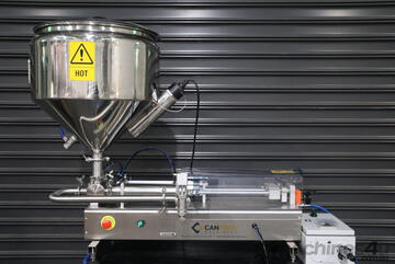 CPM 1Lt Liquid Filler with 50Lt Temperature Controlled Jacketed Hopper