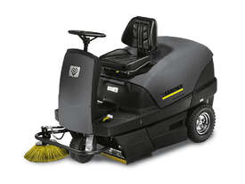 Karcher Brand New - Indoor/Outdoor Ride On Sweeper - picture0' - Click to enlarge