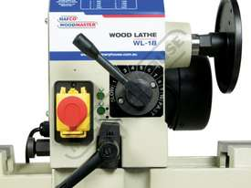 WL-18 Swivel Head Wood Lathe 310mm Swing x 900mm Between Centres - picture10' - Click to enlarge