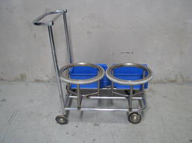 Stainless Steel Cleaning Trolley - picture0' - Click to enlarge