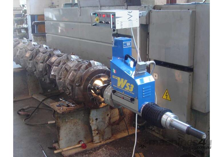 In-Line Boring & Bore Welding with One Machine
