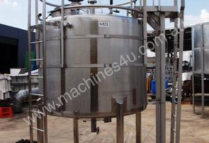 Stainless Steel Storage Tank - Capacity 5,000 Lt