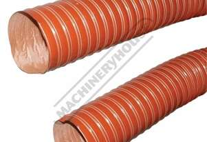 DCH-100F Flame Retardant Dust Hose - Metal or Timber Ø100mm Dia. 4 Metre