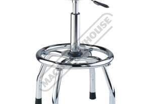 GSP-795 Pneumatic Stool Ø360mm Round Padded Seat 675 ~ 795mm Seat Height
