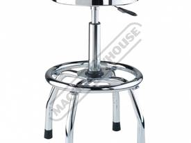GSP-795 Pneumatic Stool Ø360mm Round Padded Seat