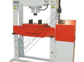 HP-100T Industrial Hydraulic Press 100 Tonne - picture0' - Click to enlarge