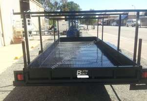 BLYTH BUILT tilt box car trailer