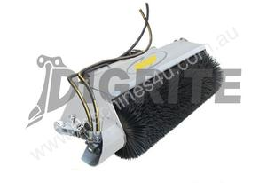 NEW DIGGA SKID STEER OPEN FACE BUCKET BROOM