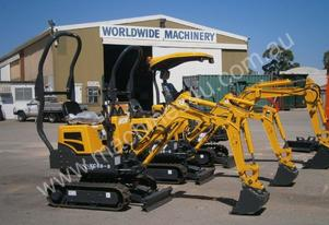 New WCM YC08-8 Mini Excavator, Moving Out SALE!