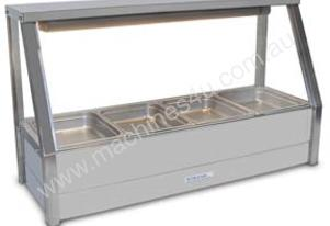 Roband E14 Single Row Straight Glass Hot Foodbar