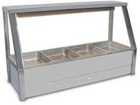 Roband E14 Single Row Straight Glass Hot Foodbar  - picture0' - Click to enlarge