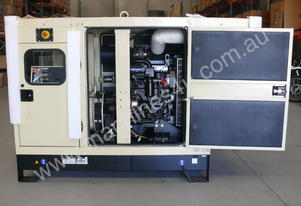 Kohler  77kVA KD77 Diesel Prime Generator Enclosed Cabinet John Deere Powered
