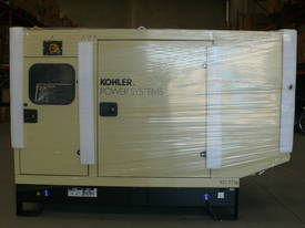 Kohler KD77IV 77kVA  Diesel Generator Enclosed Cabinet John Deere Powered - picture2' - Click to enlarge
