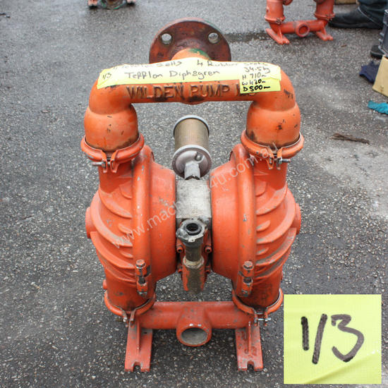 Wilden 8 air operated double diaphragm pump